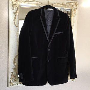 C2 by Calibrate blazer. Black velvet. Boys size 18